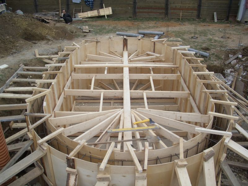 Строительство бассейнов своими руками на даче